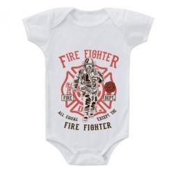 Дитячий бодік Fire Fighter