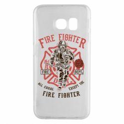 Чохол для Samsung S6 EDGE Fire Fighter