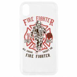 Чохол для iPhone XR Fire Fighter
