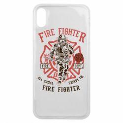 Чохол для iPhone Xs Max Fire Fighter