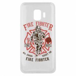 Чохол для Samsung J2 Core Fire Fighter