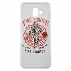 Чохол для Samsung J6 Plus 2018 Fire Fighter
