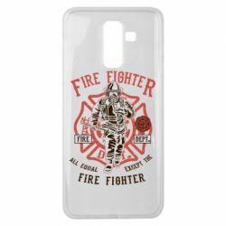 Чохол для Samsung J8 2018 Fire Fighter