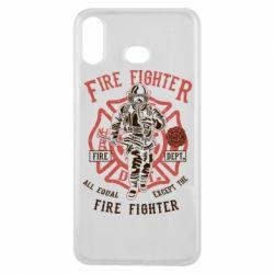 Чохол для Samsung A6s Fire Fighter