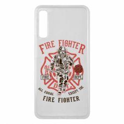 Чохол для Samsung A7 2018 Fire Fighter