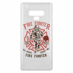 Чохол для Samsung Note 9 Fire Fighter