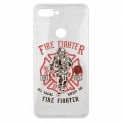 Чохол для Xiaomi Mi8 Lite Fire Fighter