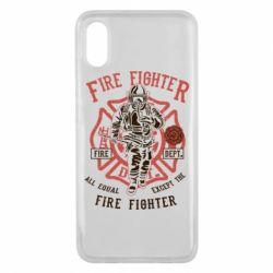 Чохол для Xiaomi Mi8 Pro Fire Fighter