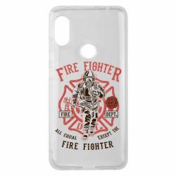 Чохол для Xiaomi Redmi Note Pro 6 Fire Fighter