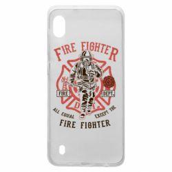 Чохол для Samsung A10 Fire Fighter
