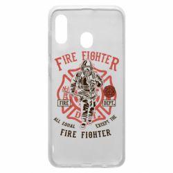 Чохол для Samsung A20 Fire Fighter