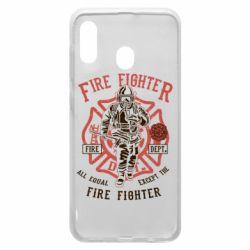 Чохол для Samsung A30 Fire Fighter