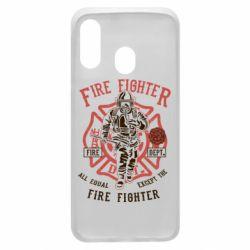 Чохол для Samsung A40 Fire Fighter