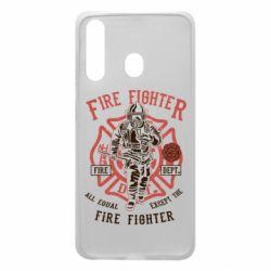 Чохол для Samsung A60 Fire Fighter