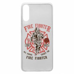 Чохол для Samsung A70 Fire Fighter
