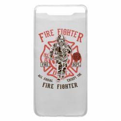 Чохол для Samsung A80 Fire Fighter