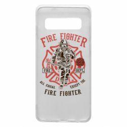 Чохол для Samsung S10 Fire Fighter