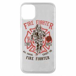Чохол для iPhone 11 Pro Fire Fighter