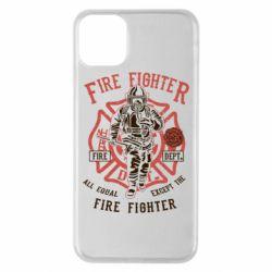 Чохол для iPhone 11 Pro Max Fire Fighter