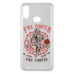 Чохол для Samsung A10s Fire Fighter