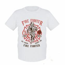 Дитяча футболка Fire Fighter
