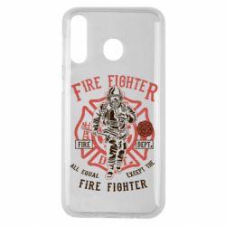 Чохол для Samsung M30 Fire Fighter