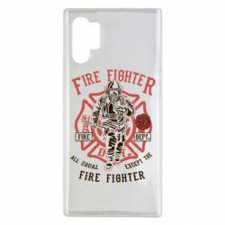 Чохол для Samsung Note 10 Plus Fire Fighter