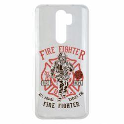Чохол для Xiaomi Redmi Note 8 Pro Fire Fighter