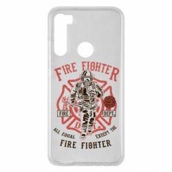 Чохол для Xiaomi Redmi Note 8 Fire Fighter