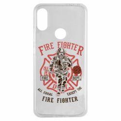 Чохол для Xiaomi Redmi Note 7 Fire Fighter