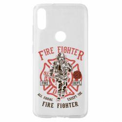 Чохол для Xiaomi Mi Play Fire Fighter