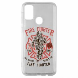 Чохол для Samsung M30s Fire Fighter