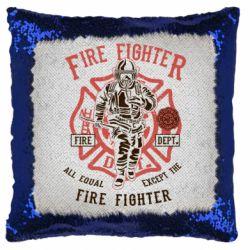 Подушка-хамелеон Fire Fighter