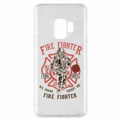 Чохол для Samsung S9 Fire Fighter