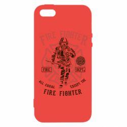 Чохол для iphone 5/5S/SE Fire Fighter