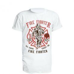 Подовжена футболка Fire Fighter