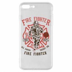 Чохол для iPhone 8 Plus Fire Fighter