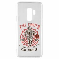 Чохол для Samsung S9+ Fire Fighter