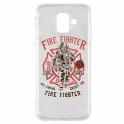 Чохол для Samsung A6 2018 Fire Fighter