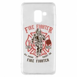 Чохол для Samsung A8 2018 Fire Fighter