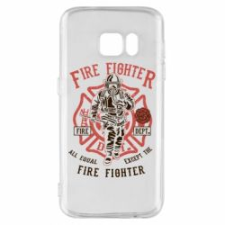 Чохол для Samsung S7 Fire Fighter