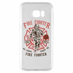 Чохол для Samsung S7 EDGE Fire Fighter