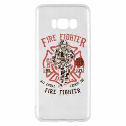 Чохол для Samsung S8 Fire Fighter