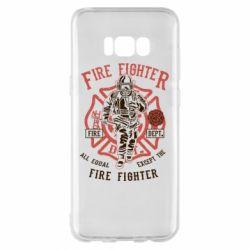 Чохол для Samsung S8+ Fire Fighter