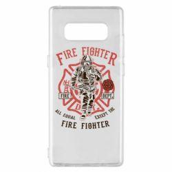 Чохол для Samsung Note 8 Fire Fighter