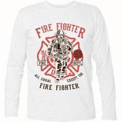 Футболка з довгим рукавом Fire Fighter