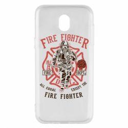 Чохол для Samsung J5 2017 Fire Fighter