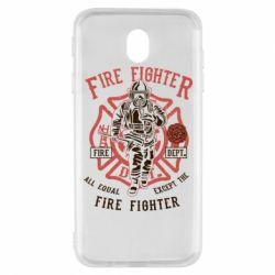 Чохол для Samsung J7 2017 Fire Fighter