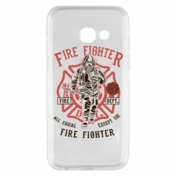 Чохол для Samsung A3 2017 Fire Fighter
