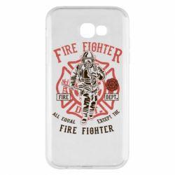Чохол для Samsung A7 2017 Fire Fighter